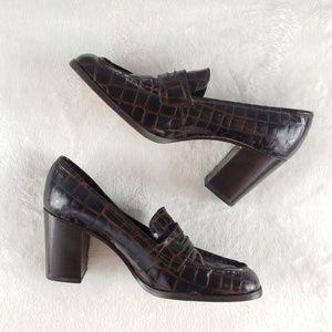Charles David designed by Nathalia M heeled loafer